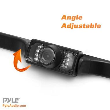 "Pyle PLCM34WIR 3.5"" Monitor Wireless Backup Rearview Night Vision Camera Kit Thumbnail 2"