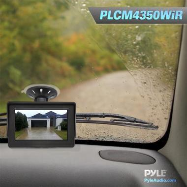 Pyle PLCM4350WIR 4.3'' Monitor Wireless Back-Up Rearview & License Plate Camera Thumbnail 5