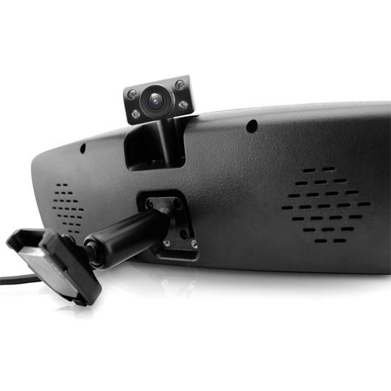 Pyle PLCMDVR7G Rear View Mirror Dash Camera System Bluetooth Handsfree GPS DVR Thumbnail 4
