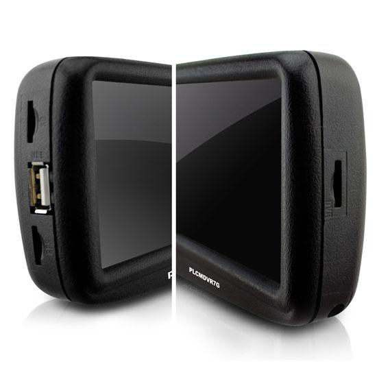 Pyle PLCMDVR7G Rear View Mirror Dash Camera System Bluetooth Handsfree GPS DVR Thumbnail 6