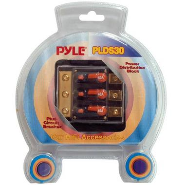 Pyle PLDS30 Triple 40 Amp In-Line Circuit Breaker Thumbnail 1