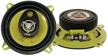 "Pyle Gear 5.25"" 13cm 130mm 280w Car Door Shelf Two Way Coaxial Speakers Pair Thumbnail 1"