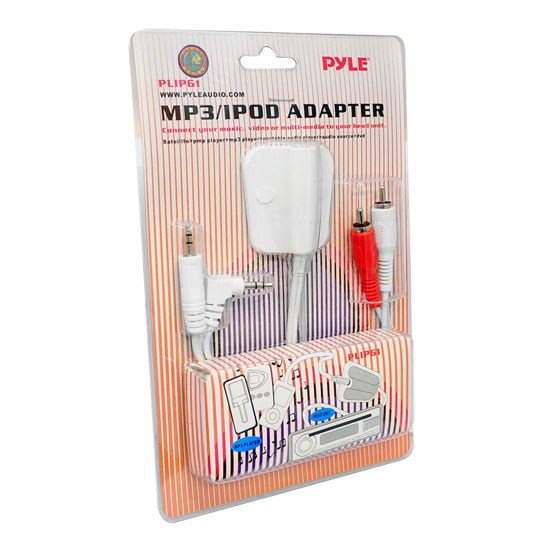 Pyle PLIPG1 iPod 3.5mm Stereo to RCA Adaptor Thumbnail 2