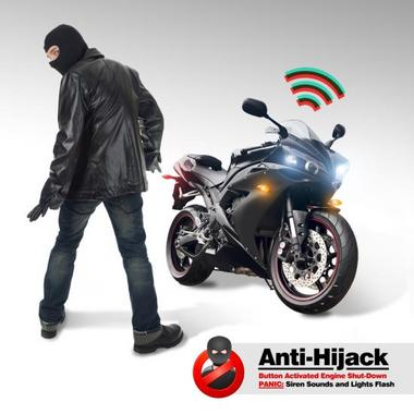 Pyle PLMCWD15 Motorcycle Alarm System w/WaterResistant Mini Wireless Control Thumbnail 3