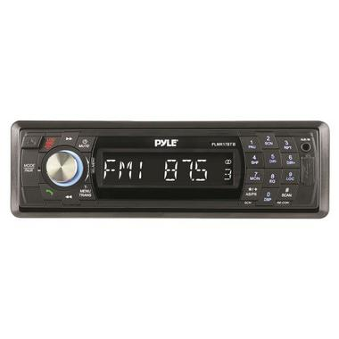 Pyle PLMR17BTB AM/FM Marine Detachable Face Radio w/SD/MMC/USB & Bluetooth Thumbnail 2