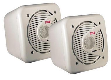 Pyle PLMR53 5.25'' 150 Watt Two-Way Shielded Marine Water Proof Speakers Thumbnail 1