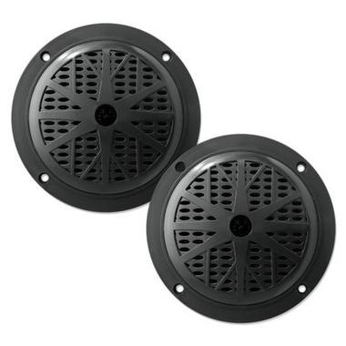 "Pyle PLMR61B 120W 6.5"" Dual Cone Marine Boat Outdoor WaterProof Patio Speakers Thumbnail 1"