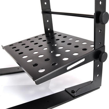 PYLE-PRO PLPTS30 Laptop Computer Stand For DJ with Flat Bottom Legs Thumbnail 3