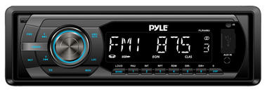 Pyle PLR44MU In-Dash AM/FM-MPX Detachable Face Receiver with MP3 Playback & USB/SD/Aux Inputs Thumbnail 1