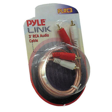Pyle PLRC3 3ft Stereo RCA Cable Thumbnail 1