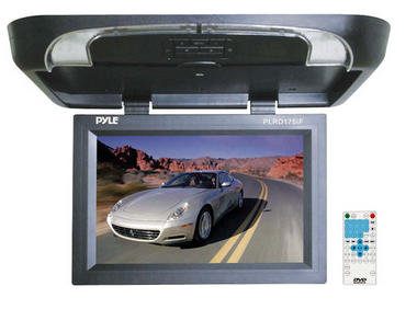 Pyle PLRD175IF 17 inch Flip Down Monitor with Built in DVD/ SD/ USB Player Thumbnail 1