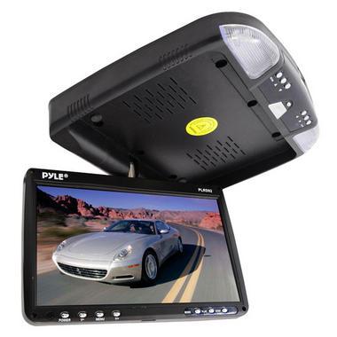 PLRD92 9'' FlipDown RoofMount Monitor & DVD Player Wireless IR & FM Modulator Thumbnail 4