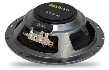 "Pyle Slim 6.5"" 16.5cm 17cm 200w Coaxial Two Way Pair Of Car Door Shelf Speakers Thumbnail 2"
