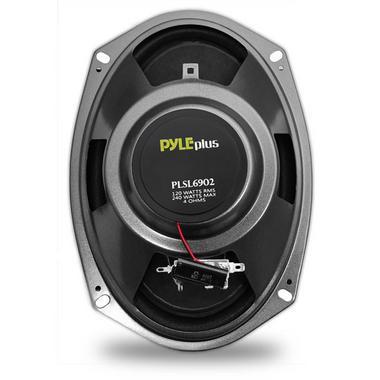 Pyle PLSL6902 6''x 9'' 240 Watt Slim Mount Two-Way Coaxial Speakers Thumbnail 2