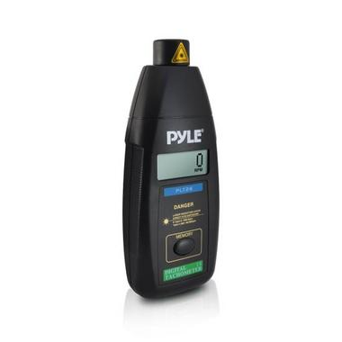 Pyle PLT26 Non Contact Laser TacHometer LCD Display 99999 RPM Range & Case Thumbnail 1