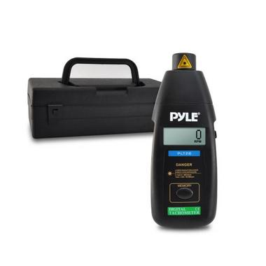 Pyle PLT26 Non Contact Laser TacHometer LCD Display 99999 RPM Range & Case Thumbnail 2