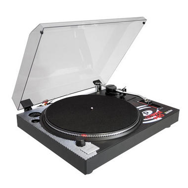 Pyle Pro Belt Drive Vinyl Turntable With Adjustable Pitch Cartridge And Stylus Thumbnail 1