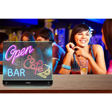 PLWB2030 Erasable Desktop Illuminated LED Writing Board w/ Remote With 8 Markers Thumbnail 4