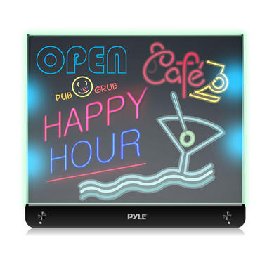PLWB2030 Erasable Desktop Illuminated LED Writing Board w/ Remote With 8 Markers Thumbnail 5