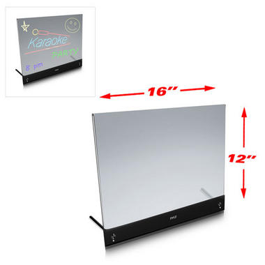 PLWB2030 Erasable Desktop Illuminated LED Writing Board w/ Remote With 8 Markers Thumbnail 2