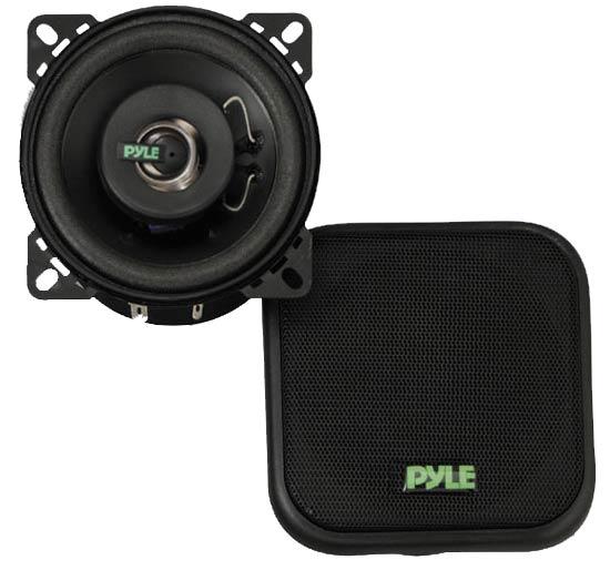 Pyle PLX42 4'' 120 Watt Two-Way Speakers Thumbnail 1