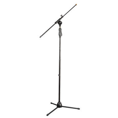 PylePro PMKS38 Universal Tripod Microphone Stand with Easy Grip, Push Height, Adjustable and Extendable Thumbnail 1