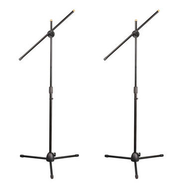 PylePro PMKSKT35 Universal Tripod Microphone Stand Kit with Adjustable and Extendable Boom (Set of 2) Thumbnail 1