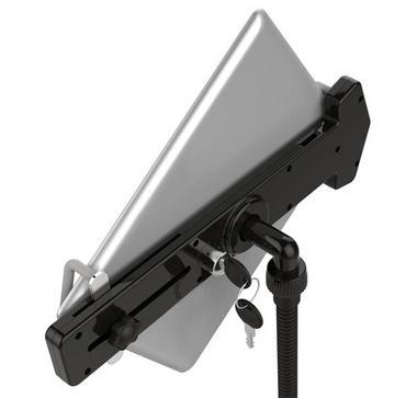 Pyle PMKSPAD6LK Secure Anti-Theft Lock Lockable Tablet Stand Holder Adjustable Thumbnail 2