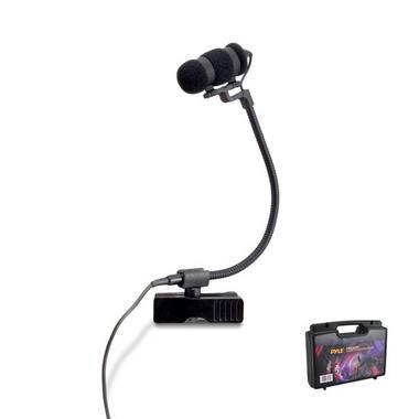 Pyle PMKSTR1 Musical Instrument Set Microphone XLR Phantom Power Adapter Thumbnail 1