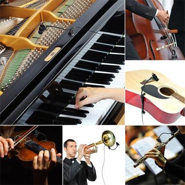 Pyle PMKSTR1 Musical Instrument Set Microphone XLR Phantom Power Adapter Thumbnail 7