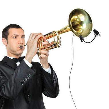 Pyle PMKSTR1 Musical Instrument Set Microphone XLR Phantom Power Adapter Thumbnail 4