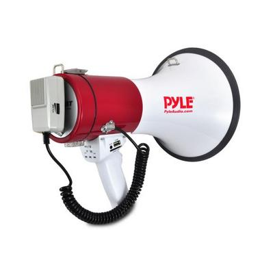 Pyle PMP52BT Bluetooth Megaphone Bullhorn AUX (3.5mm) Input Built-in USB Flash Thumbnail 4