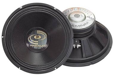 Pyle Pro DJ PPA15 800w 8 Ohm Professional PA 15'' Inch Sub Woofer Bass Speaker Thumbnail 1