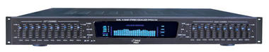 Pyle-Pro PPEQ100 19'' Rack Mount Dual 10 Band 4 Source Input Stereo Spectrum Graphic Equalizer Thumbnail 1