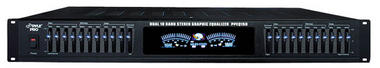 """Pyle-Pro PPEQ150 19"""" Rack Mount Dual 10 Band Stereo Graphic Equalizer Hi-Fi PA Thumbnail 1"""