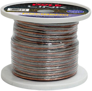 Pyle PSC18500 18 Gauge 500 ft. Spool of High Quality Speaker Zip Wire Thumbnail 1