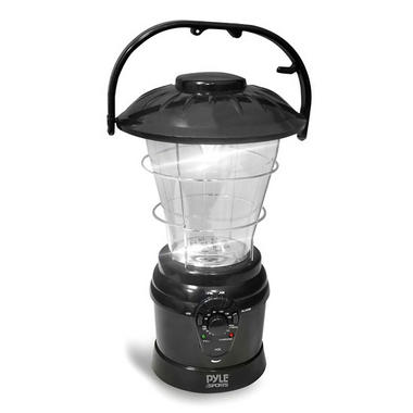 Camping Torch Lantern Radio Rechargeable Battery with Power Hand Crank Recharger Thumbnail 1