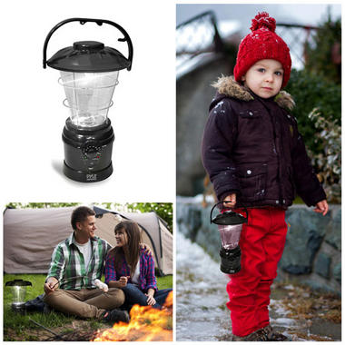 Camping Torch Lantern Radio Rechargeable Battery with Power Hand Crank Recharger Thumbnail 3