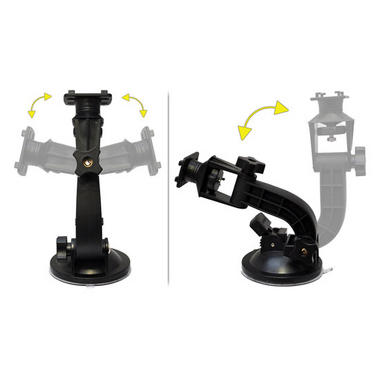 Pyle-SPORT PSIC55 Armoured Suction Cup Mount Mobile Phone Bracket For Smartphone Thumbnail 4
