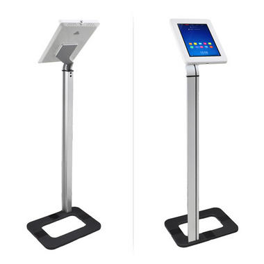 Pyle Anti-Theft iPad/Tablet Kiosk Public Display Floor Stand (Works with iPad Generations 1/2/3/4 and iPad Air) Thumbnail 2