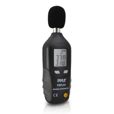 Pyle-Meters PSPL03 Mini Sound Level Meter with A Frequency Weighting Decebel dB Thumbnail 1