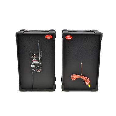 "Pyle PSUFM837BT Pair of 800W 8"" Bluetooth Speakers USB/AUX FM Flashing Light Thumbnail 5"