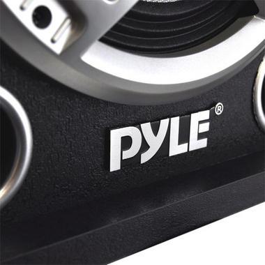 "Pyle PSUFM837BT Pair of 800W 8"" Bluetooth Speakers USB/AUX FM Flashing Light Thumbnail 4"
