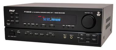 Pyle-Home PT588AB 5.1 Channel Home Receiver with AM FM, HDMI and Bluetooth Thumbnail 1