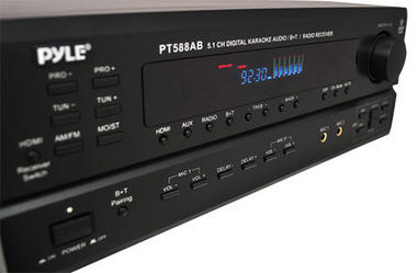 Pyle-Home PT588AB 5.1 Channel Home Receiver with AM FM, HDMI and Bluetooth Thumbnail 3