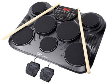 Pyle-Pro PTED01 Electronic Table Digital Drum Kit Top w/ 7 Pad Digital Drum Kit Thumbnail 1