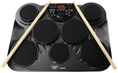 Pyle-Pro PTED01 Electronic Table Digital Drum Kit Top w/ 7 Pad Digital Drum Kit Thumbnail 5