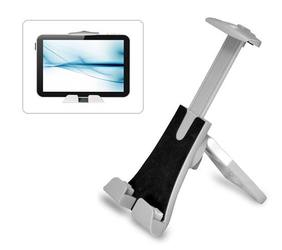 Pyle PTPAD10 Tablet Stand Holder Adjustable iPad Kindle Android Galaxy Nexus Thumbnail 1