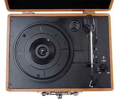 PVTT2UWD Rechargeable Retro Belt-Drive Turntable Built in Speakers & USB-to-PC Thumbnail 2
