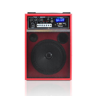 Pyle PWMAB250RD 300w Bluetooth 6.5'' Portable PA Speaker System Rechargeable Thumbnail 3